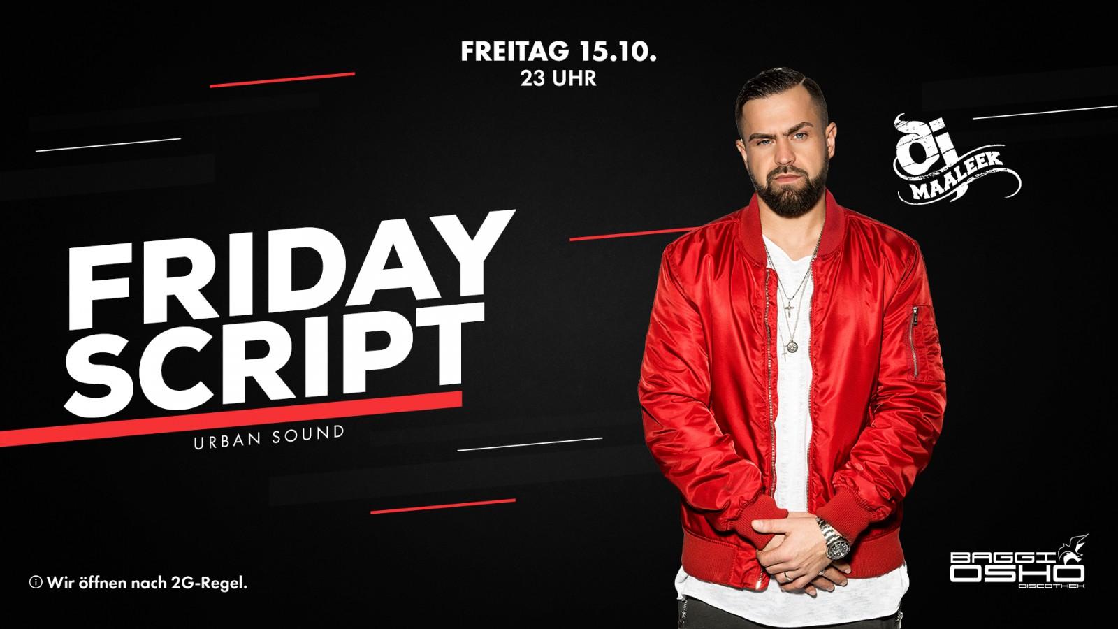 Friday Script   15.10.2021