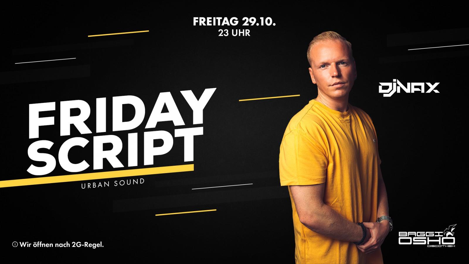 Friday Script   29.10.2021